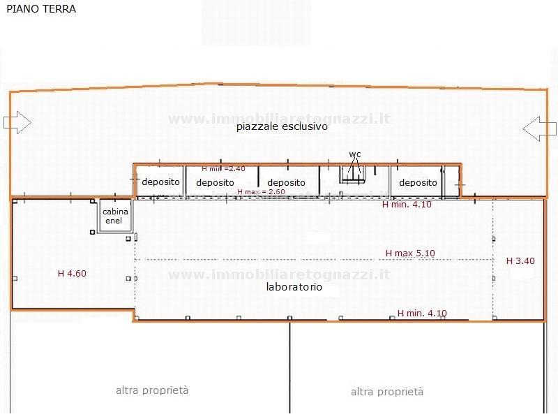 Capannone in vendita a San Gimignano, 2 locali, prezzo € 300.000 | Cambio Casa.it