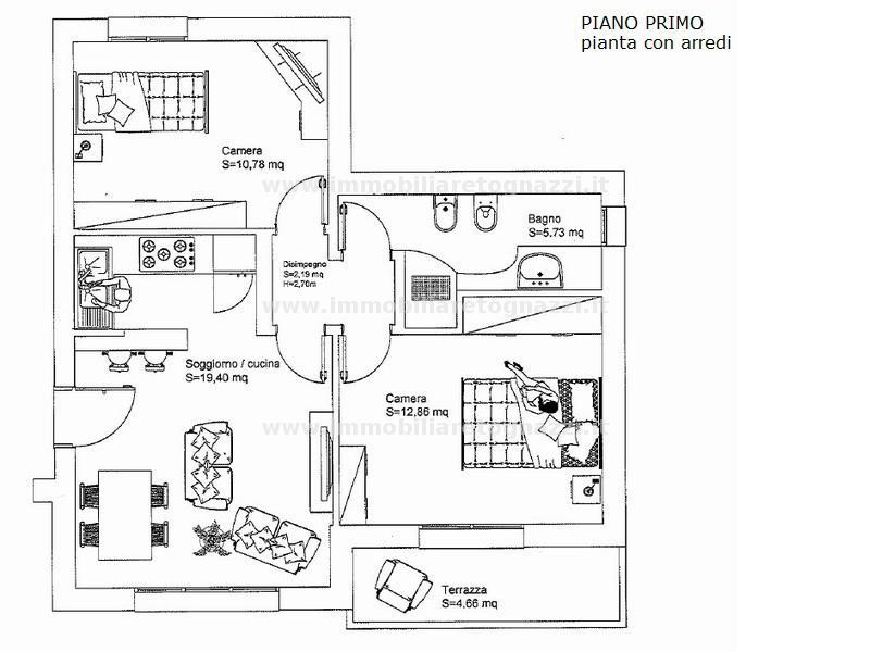 Appartamento in vendita a Barberino Val d'Elsa, 3 locali, prezzo € 251.000 | Cambio Casa.it