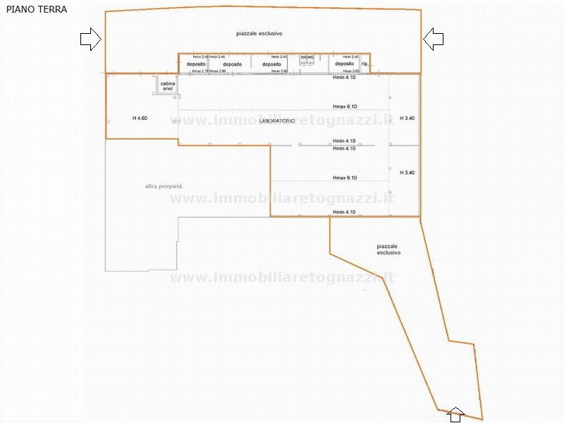 Capannone in vendita a San Gimignano, 3 locali, prezzo € 450.000 | Cambio Casa.it