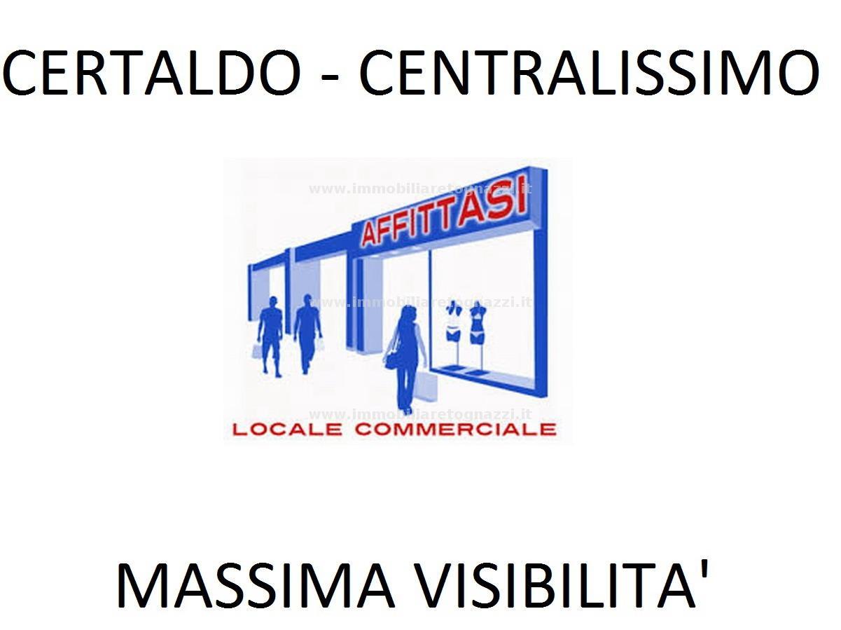 Immobile Commerciale in Affitto a Certaldo