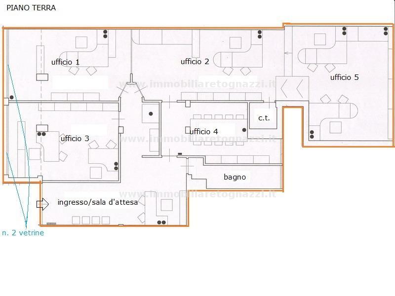 Immobile Commerciale in affitto a Certaldo, 6 locali, prezzo € 1.700 | Cambio Casa.it