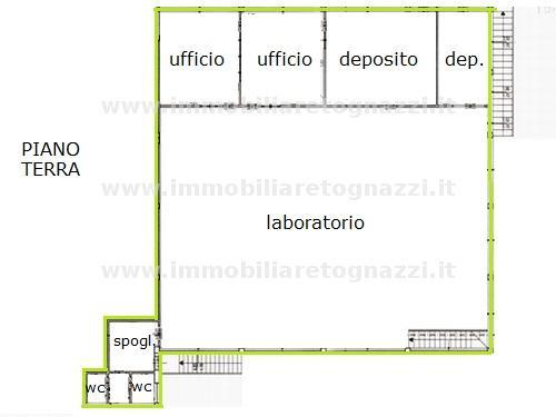 Capannone in vendita a Certaldo, 1 locali, prezzo € 250.000 | Cambio Casa.it