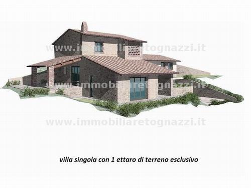 Villa in vendita a Gambassi Terme, 6 locali, prezzo € 550.000 | Cambio Casa.it