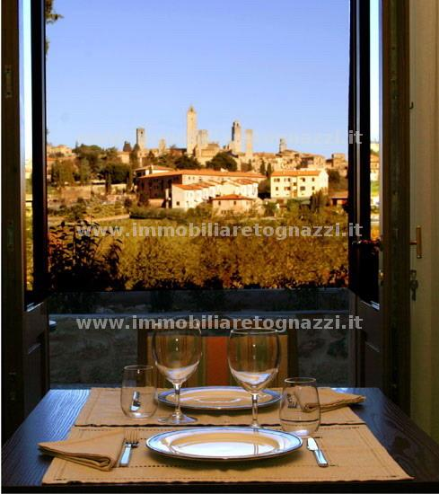 Vai alla scheda: Casa Vacanze Vendita - San Gimignano (SI) - Codice -16033